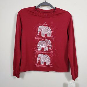 Rebellious One Elephant Graphic Tee Size XS